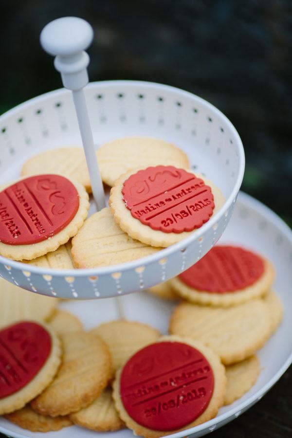 Bedruckte Kekse