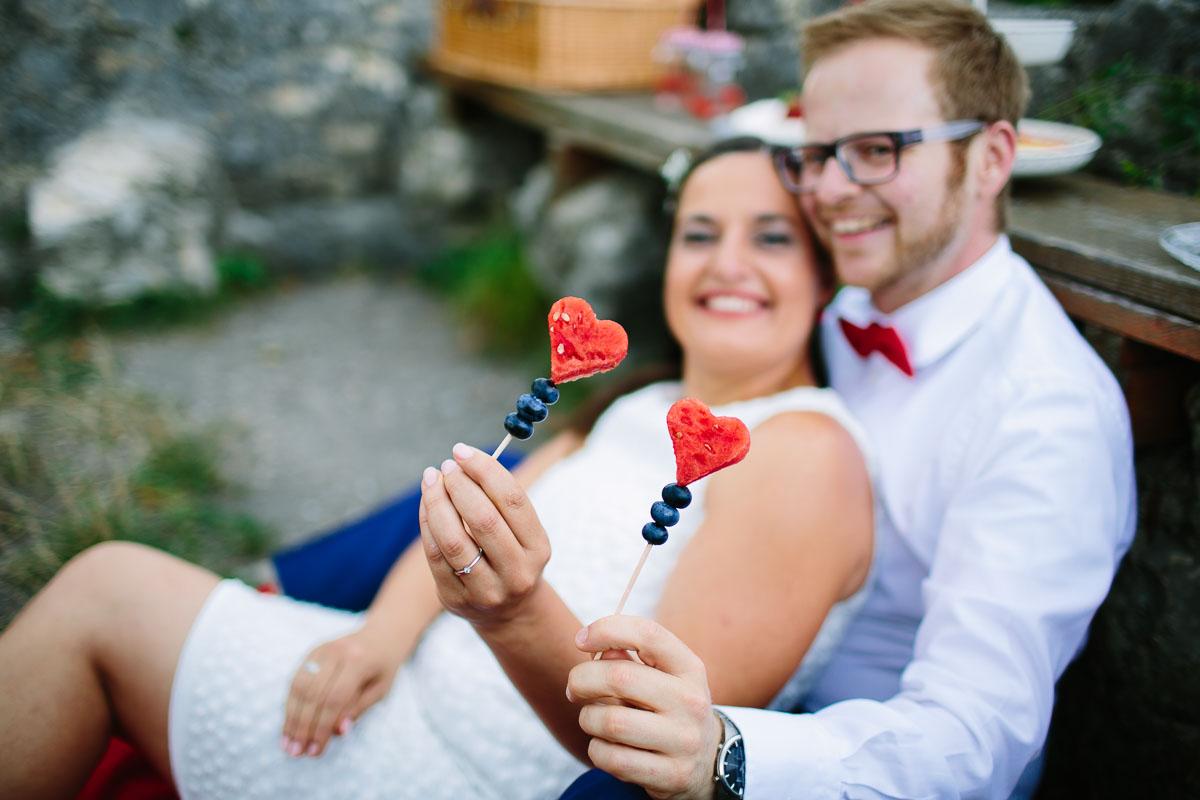 Hochzeitstag Shooting